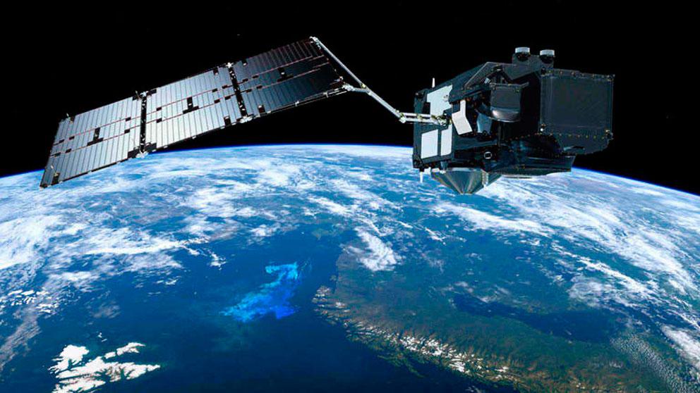 Un satélite del programa europeo Copérnico.