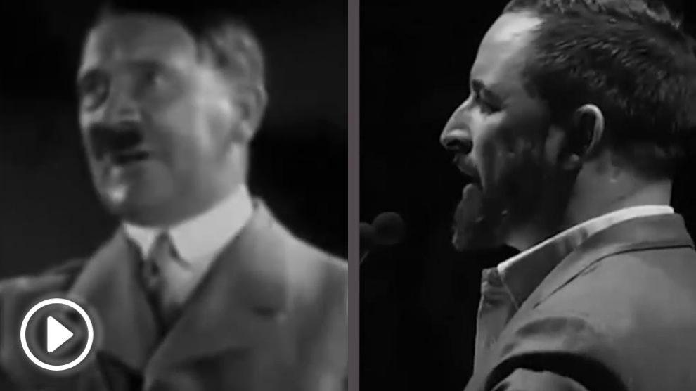 Hitler comparado con VOX