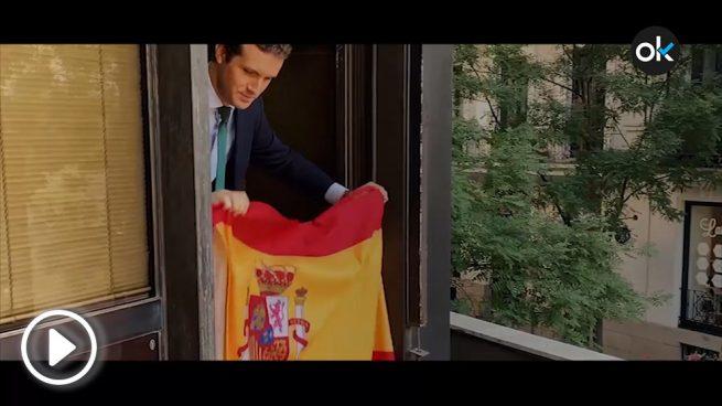 Casado en la Fiesta Nacional: «Algunos quieren poner España en riesgo pero no lo vamos a permitir»