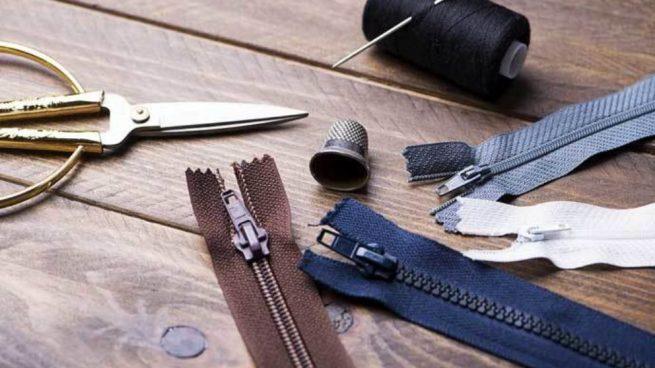coser una cremallera