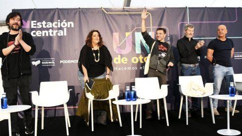 Debate sobre la Monarquía en la Universidad de Podemos. (Foto. Podemos)