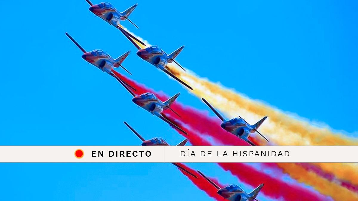 Día de la Hispanidad 2018: Sigue en directo el desfile militar por la Fiesta Nacional del 12 de octubre | Última hora en directo