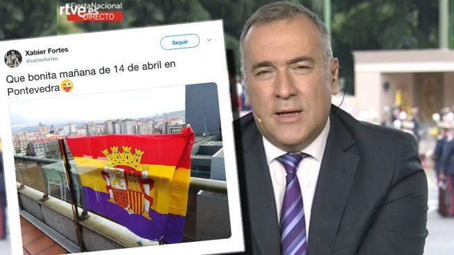 El presentador de TVE Xabier Fortes