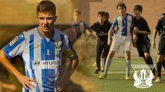 A la izquierda, Marcos de Segovia, y a la derecha, Lolo Merinero junto a Elyaz Zidane.
