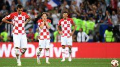 Los jugadores de Croacia, en un partido del Mundial. (Getty)
