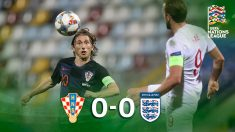 Croacia e Inglaterra empatan en la Liga de las Naciones. (AFP)