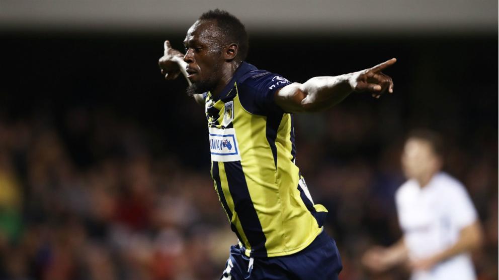 Usain Bolt marcó un doblete en Australia. (Getty)