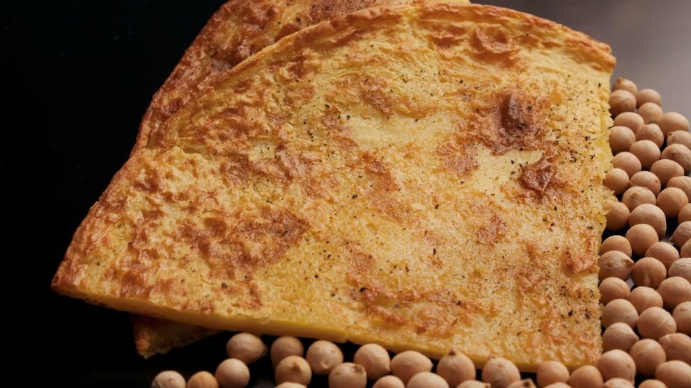 Receta de crepes de harina de garbanzo