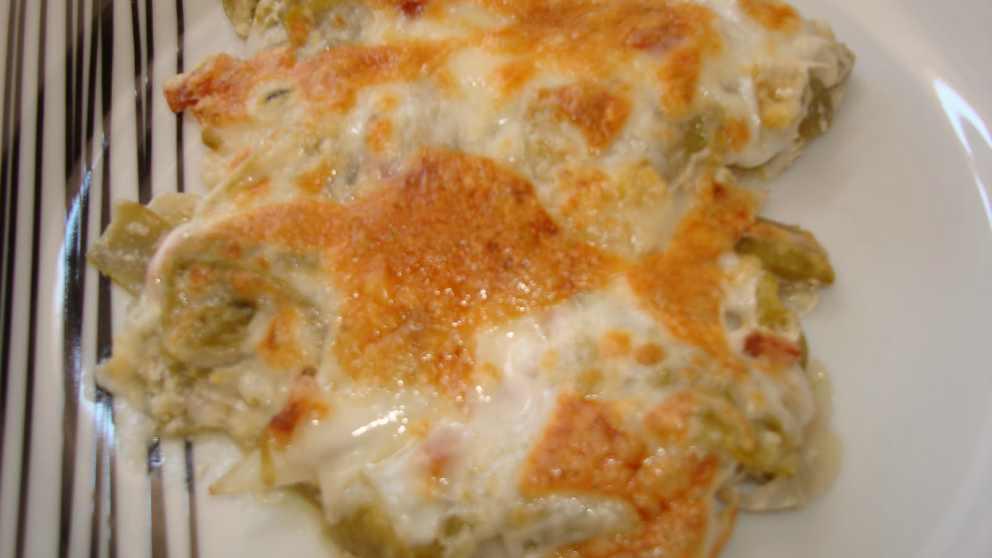 Receta de Judías verdes con parmesano al horno
