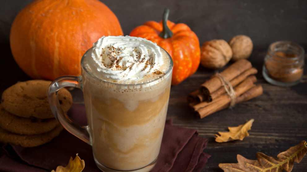 Receta de pumpkin spice latte