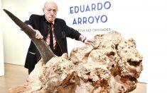 Eduardo Arroyo en una imagen de 2017 (Foto: EFE).