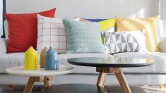 Pasos para decorar sofás con cojines