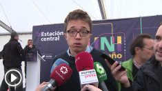 Iñigo Errejón sobre los políticos catalanes presos (EUROPAPRESS)
