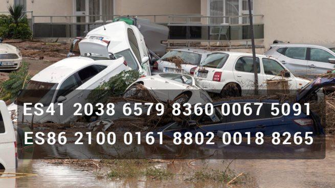 Sant Llorenç habilita dos cuentas para canalizar la ayuda a los damnificados por las inundaciones