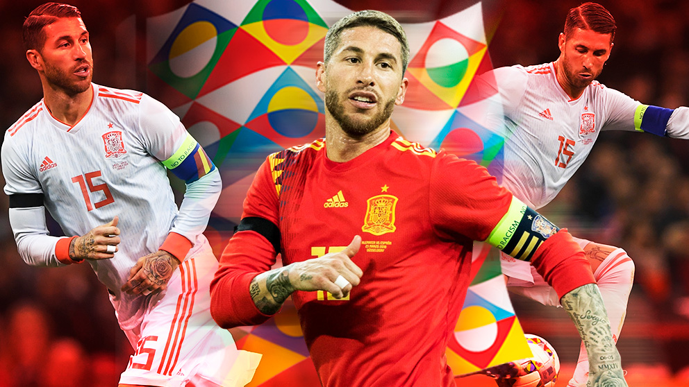 Sergio Ramos lleva casi dos años sin perderse un partido de España.