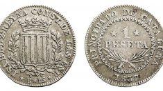 El uso de la peseta se adopta el 18 de octubre de 1868 | Efemérides del 18 de octubre de 2018