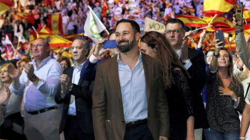 Santiago Abascal, líder de VOX (Foto: EFE)