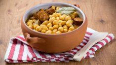 Receta de cocido madrileño estilo Masterchef Celebrity