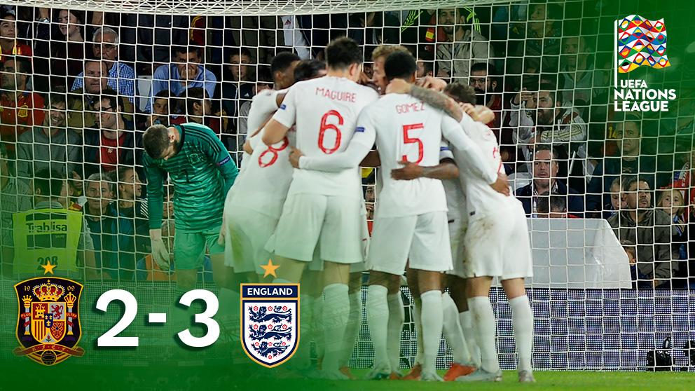 España peleó hasta el final con un 0-3 en contra.