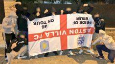 Los hooligans inundan las calles de Sevilla antes del España – Inglaterra. (Twitter)