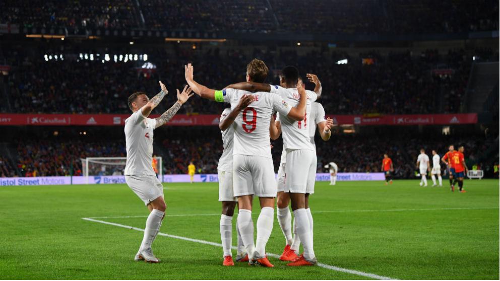 Liga de las Naciones: España – Inglaterra | Partido de fútbol hoy, en directo.