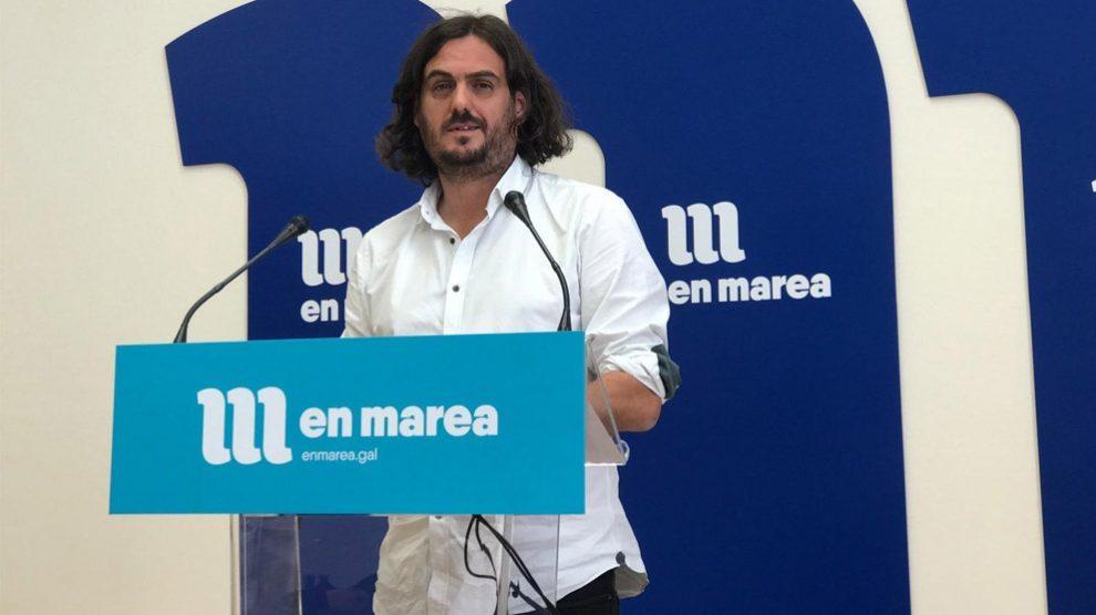 Antón Sánchez, de En Marea (Foto: EP)