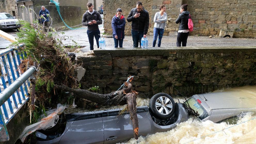 Inundaciones en Francia (AFP)