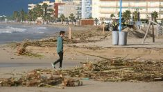 Imagen del temporal en Tarragona