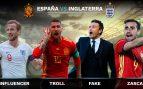 Los trending topics del España – Inglaterra