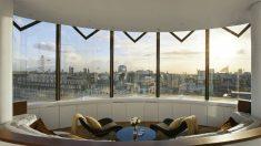 Imagen de Londres desde una habitación del Hotel ME London.