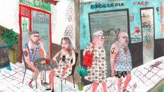 Una ilustración de 'Estamos todas bien', el cómic que le ha valido a Ana Penyas el Premio Nacional de Cómic.