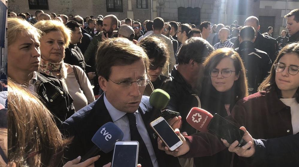 José Luis Martínez-Almeida en una reciente imagen.
