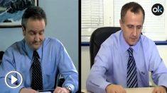 Una imagen del vídeo de Iván Redondo junto a otra del vídeo plagiado