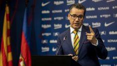 Josep Vives, portados del Barcelona, opinó sobre las declaraciones de Maradona sobre Messi. (Europa Press)