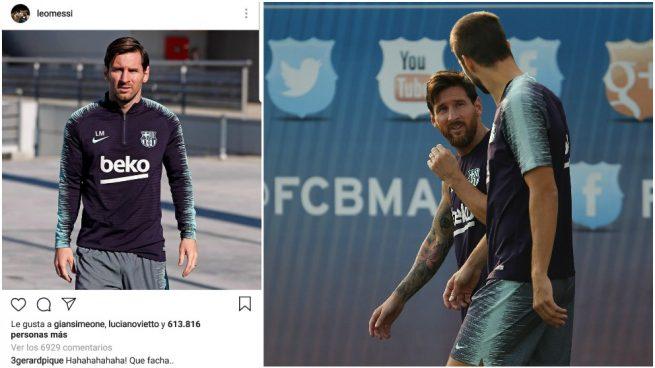 Pique Messi