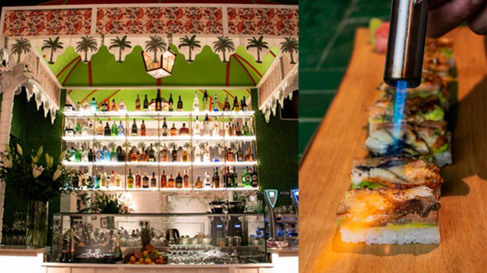 Monsieur sushita es el quinto local abierto por el Grupo Sushita en Madrid fusionando la influencia marroquí, japonesa y francesa en un mismo restaurante.
