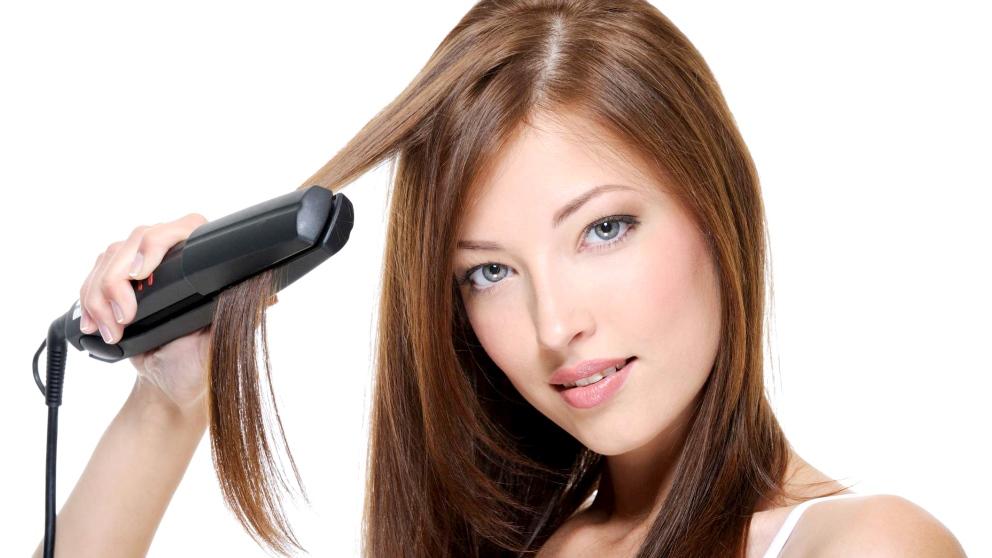Las planchas pueden quemarte el pelo si no tienes mucho cuidado con ellas