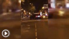 Atropello en el centro de Madrid.