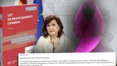 Calvo planea reformar la Ley de Enjuiciamiento Criminal y anular el artículo 416