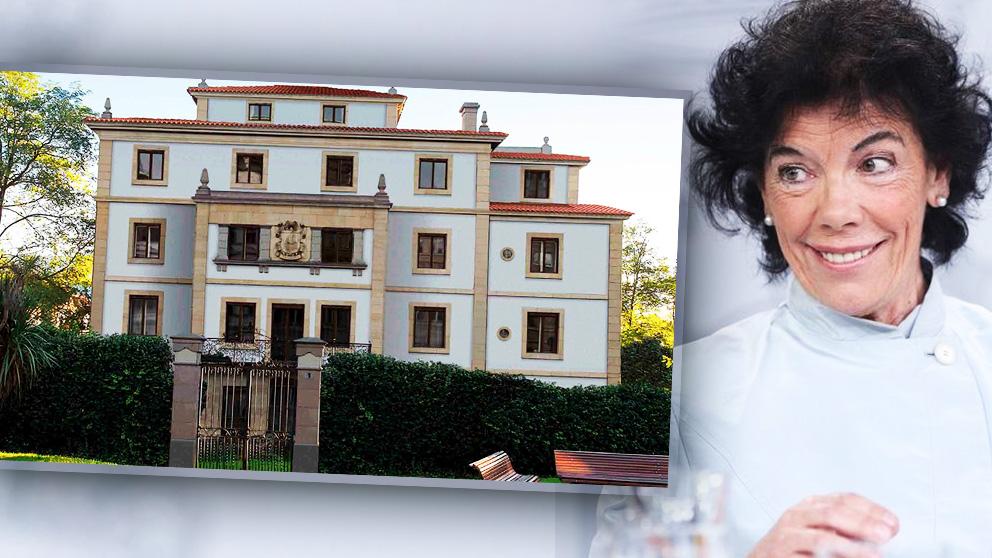 Isabel Celaá y su palacete de 2 millones en Neguri (Bilbao).
