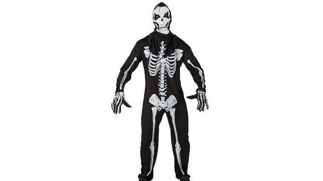 bb70935ab Cómo hacer un disfraz de esqueleto casero paso a paso