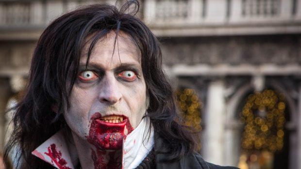 disfraz de vampiro casero