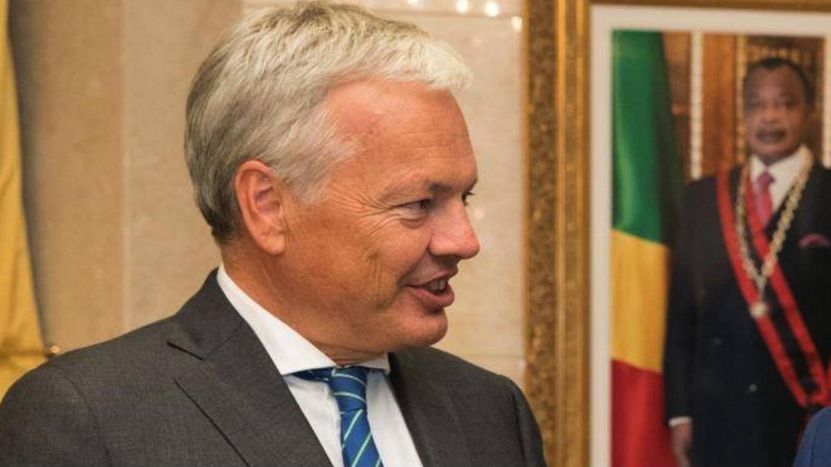 El vicepresidente del Gobierno federal y ministro de Exteriores belga, Didiers Reynders (RRSS).