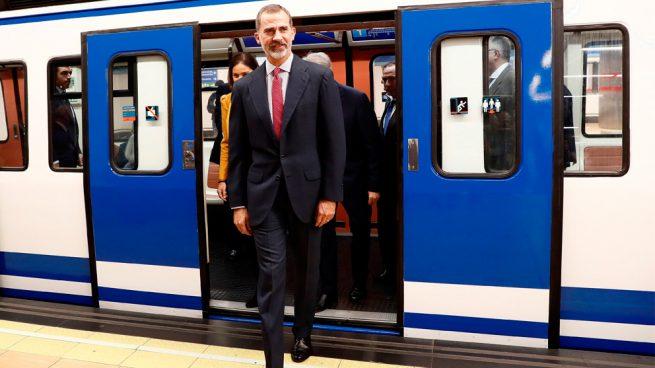 El día que Felipe VI cogió el Metro