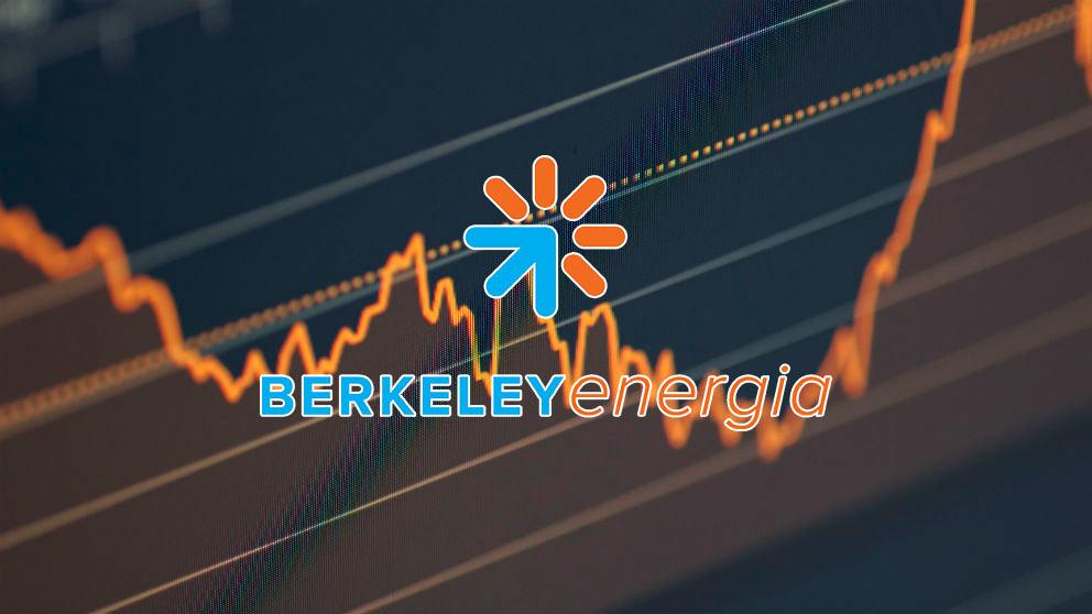 Gráfico de Berkeley con su logo.