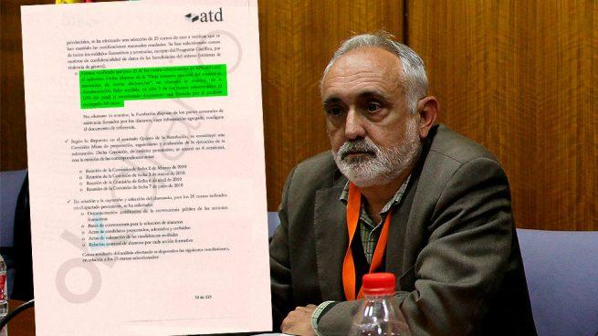 El exdirector de la Fundación Andaluza Fondo de Formación y Empleo (Faffe), Fernando Villén