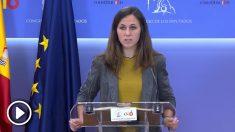 Ione Belarra confunde en rueda de prensa al Rey Felipe VI con Felipe IV