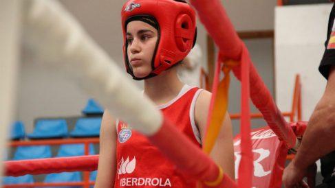 Laura Fuertes, ganadora de la Copa Boxeo de Iberdrola en la categoría de 49 a 51 kilos (Foto: Iberdrola)