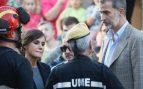 Los Reyes asisten al funeral por las víctimas de las inundaciones de Mallorca