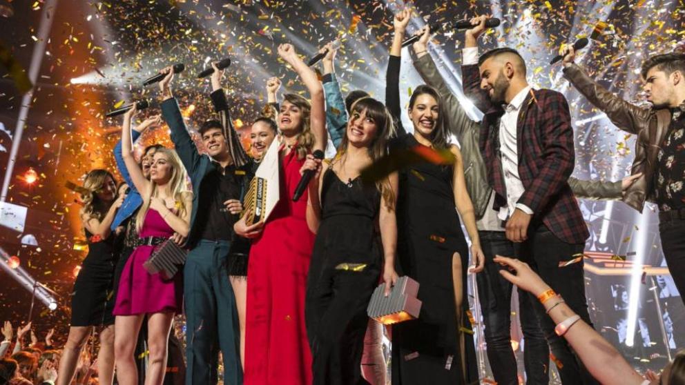 'OT 2017' triunfador de los Premios Ondas 2018